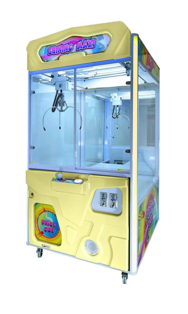 maquina-expendedora shining maxi amarillo